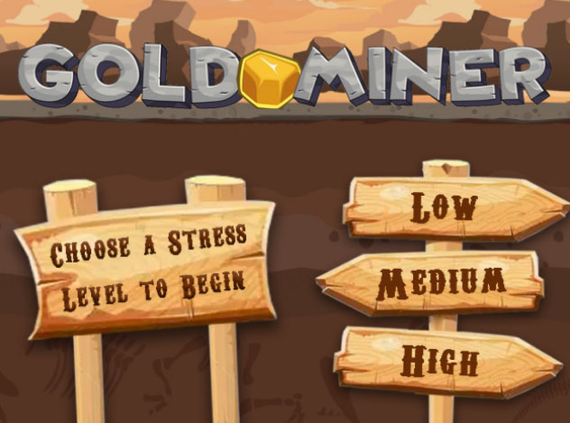 Gold miner game screenshot